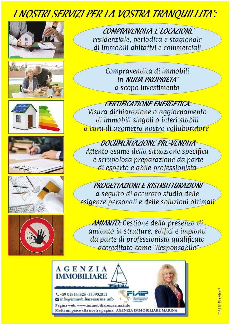 Volantino servizi giallo jpg