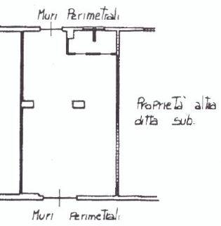 Planimetria magazzino rif. 20