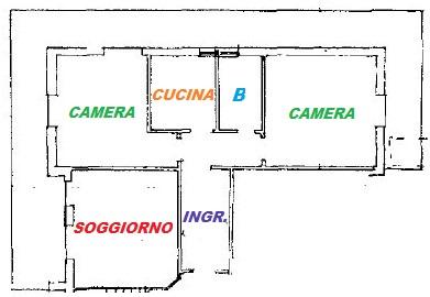 Planimetria con scritte